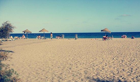 Vera Playa Club Hotel: strand voor het hotel
