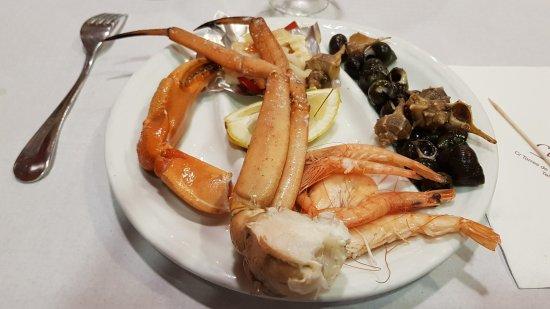 Nou Casa Jose: Entrée de Fruits de Mer