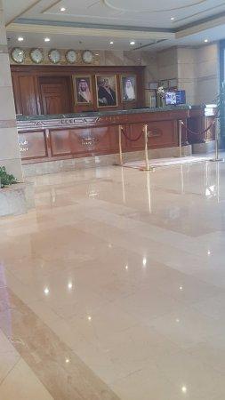 Dar Al Hijra InterContinental Madinah : Lousy reception