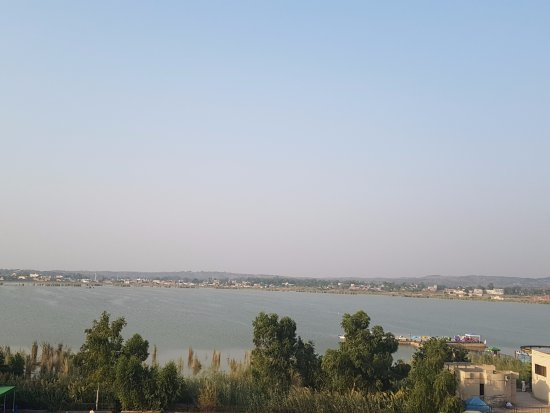 ‪‪Kallar Kahar‬, باكستان: Lake view from Terrace‬