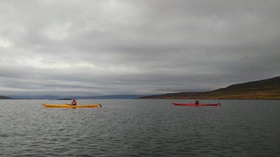 Heydalur Guesthouse: kayaking