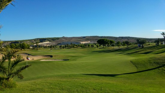 Orihuela, España: Challenging greens and perfectly shaped and manteined