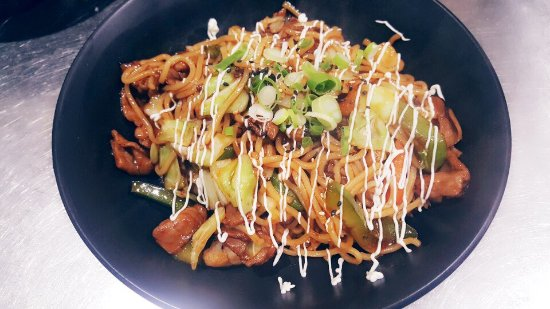 Caboolture, Australia: Teriyaki chicken soba(Stir fried noodle)