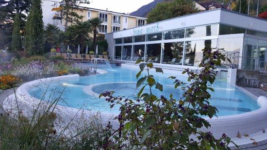 BEATUS Wellness- & Spa-Hotel: Outside heated salt-water pool