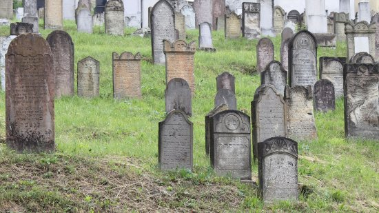 Mad, Ungern: Mád - zsidó temető