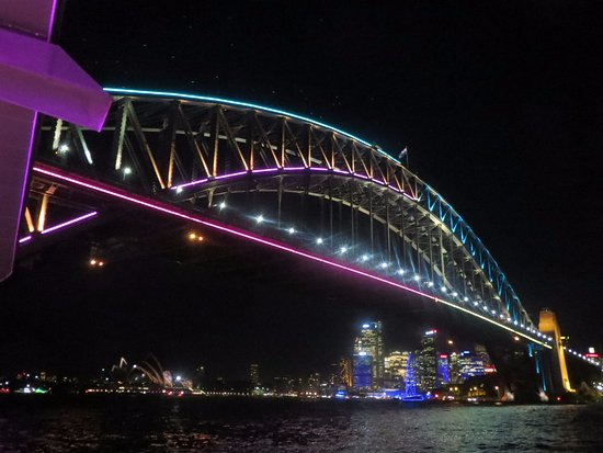 Vivid Sydney : Sydney Harbour Bridge