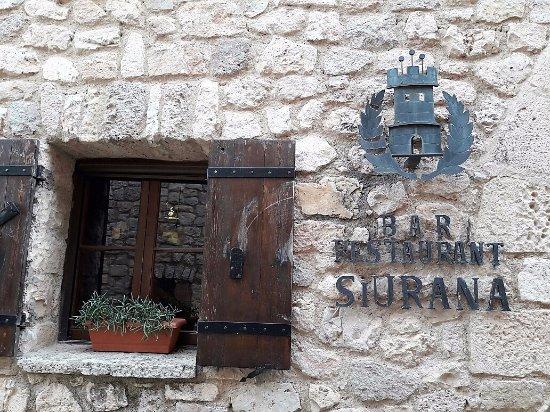 Restaurant Siurana: Ventana