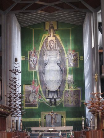 Coventry, UK: The altar piece