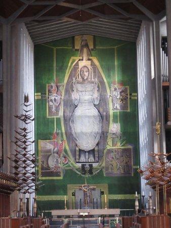 Ковентри, UK: The altar piece