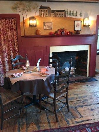 Merrimack, NH: a table