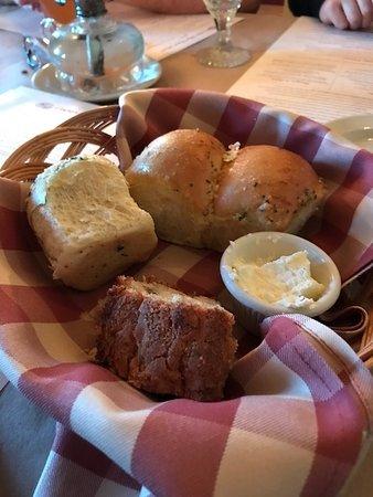 Merrimack, NH: warm bread -- minus what was eaten