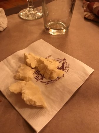 Merrimack, NH: white chocolate served after dinner