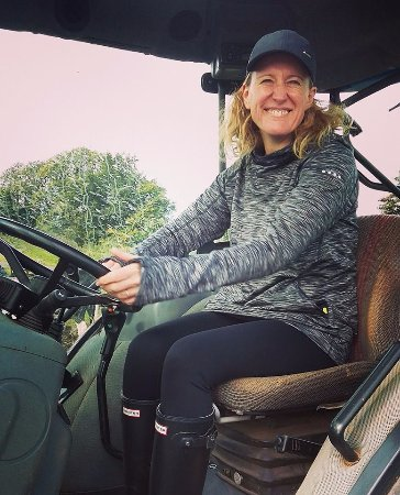 Dumfries ve Galloway, UK: Loved my tractor driving experience!