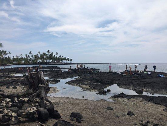 Honaunau, HI: ingresso in acqua