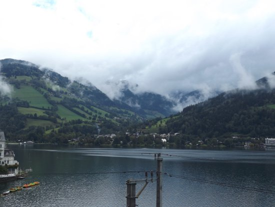 Hotel Seehof: Morning view