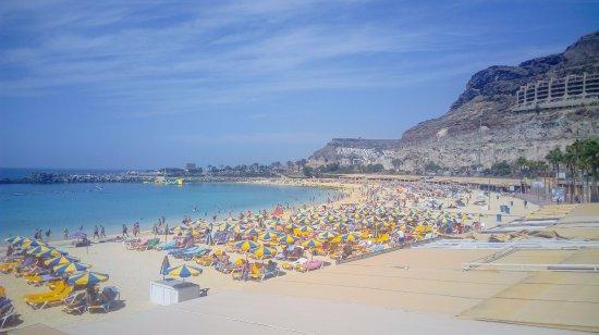 Playa de Amadores: Пляж Амадорес