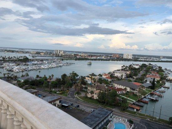 Hyatt Regency Clearwater Beach Resort & Spa: View from the 16th floor.