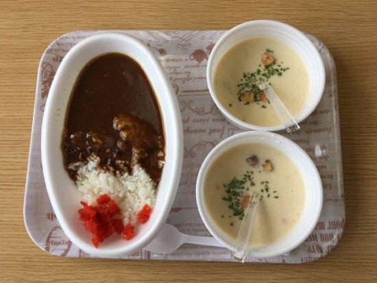 Hayama-machi, Japón: カレーとクラムチャウダー