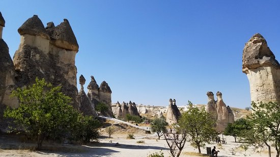 55e7d0b829 Argeus Tourism   Day Tours  Walking through the geological formations  called the Fairy Chimneys