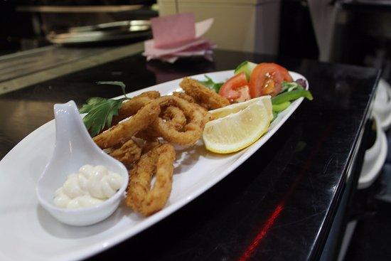 Sale, UK: Calamari Fritti