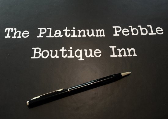 Welcome to the Platinum Pebble Boutique Inn