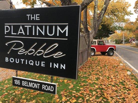 West Harwich, MA: Welcome to the Platinum Pebble Boutique Inn
