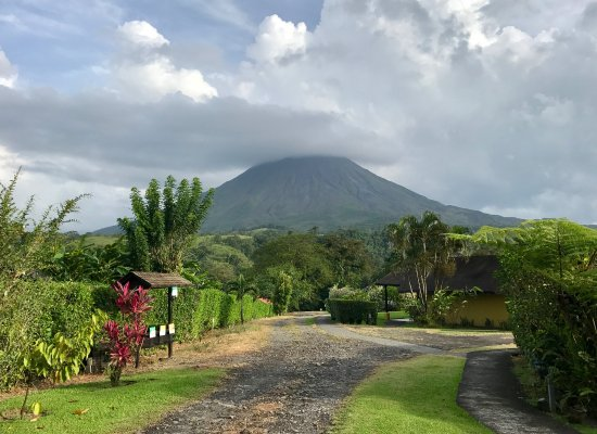 Hotel Campo Verde: Volcan