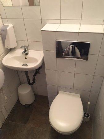 Borgarnes, Iceland: the Toilet area