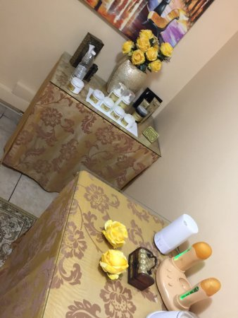 Paulpietersburg, Sydafrika: Lavita Spa is so amazing, it's calming and the staff is friendly but the massage rooms are too c