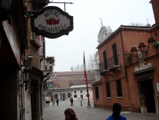 Hotel Paganelli: facade