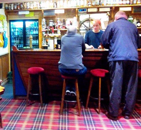 Brodick, UK: Le bar