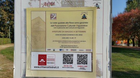 Viguzzolo, Italie : Pieve di Santa Maria