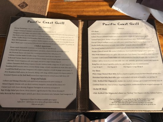 Cardiff-by-the-Sea, Калифорния: Pacific Coast Grill