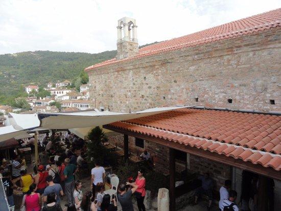 Sirince, Turkey: Outside the church