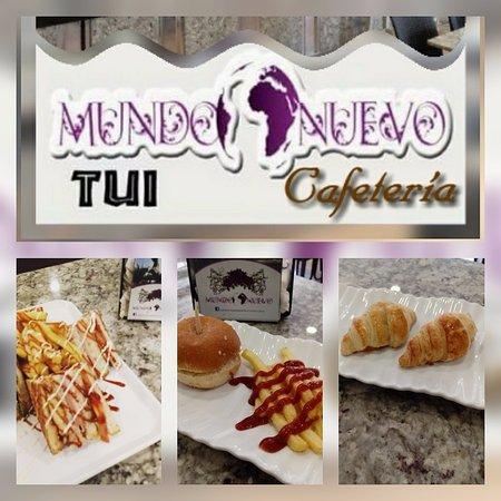 Tui, Hiszpania: Nueva  cafeteria, con gran variedad de opciones para desayunar, almorzar o cenar.
