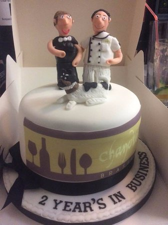 Trefriw, UK: Arwe & Anna celebrating 2yrs in business