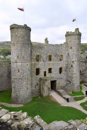 Harlech, UK: Such good condition!
