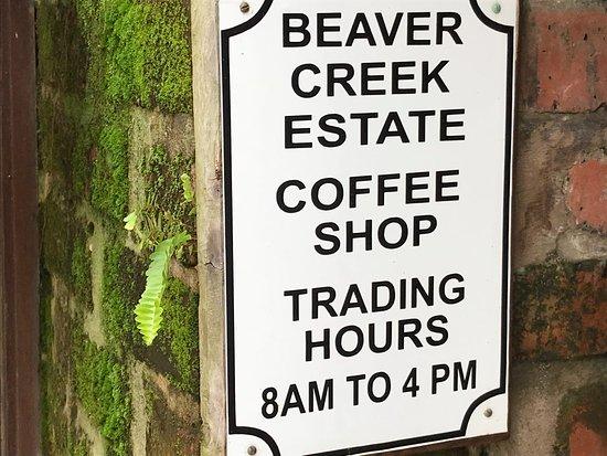 Beaver Creek Coffee Farm: front
