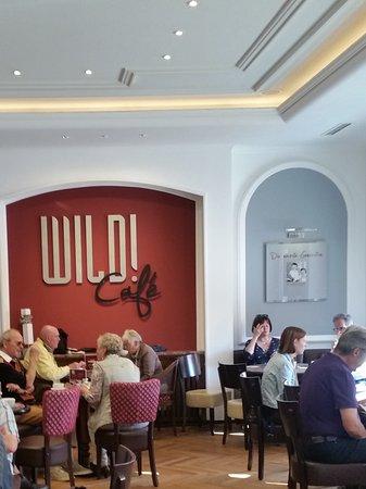 Wermelskirchen, Alemania: Teil des Cafes