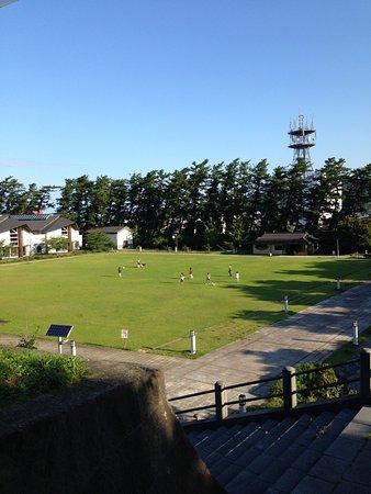 Yurihonjo, Japan: 公園内