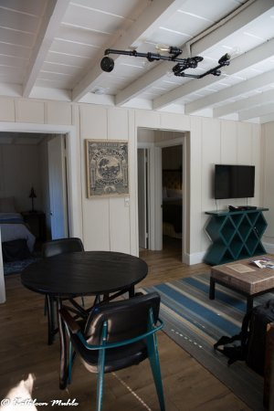 Philo, CA: View of living area as you walk in