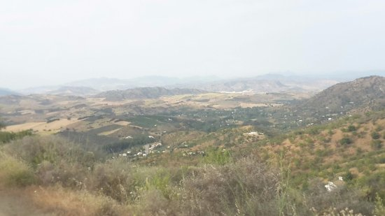 Malaga Horse Trails: The view in the hills