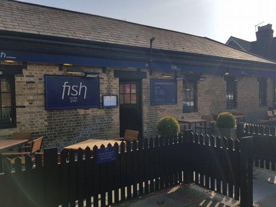 Bearsted, UK: The restaurant