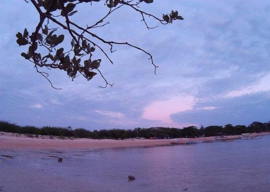 Burot Beach: view from afar