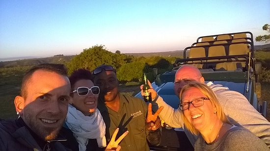 Kenton-on-Sea, South Africa: aperitivo al tramonto