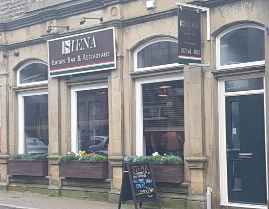 Haslingden, UK: Siena restaurant