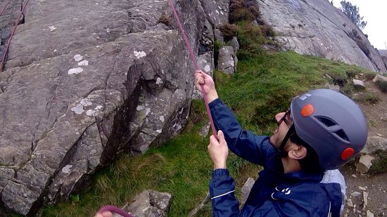 Harlech, UK: Rock Climbing and Abseiling