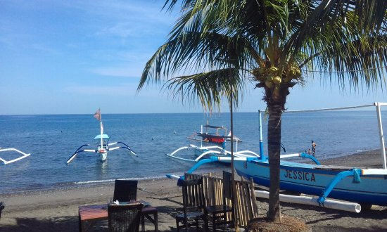 Lovina Beach, Indonesia: Boats
