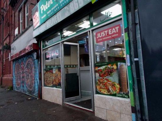 Peter Pan Pizza Takeaway: Peter Pan, Stretford