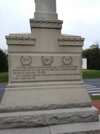 Sharpsburg, MD: New York Regiment memorial